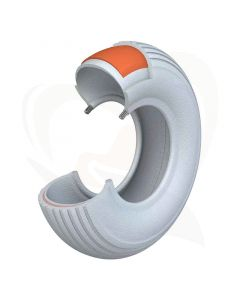 Scootmobiel buitenband anti-lek 2.80/2.50-4 (230x65) grijs