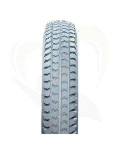 Scootmobiel buitenband anti-lek 3.00-8 (350x70) IMPAC grijs