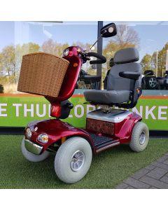 Tweedehands scootmobiel - Shoprider Deluxe TE-889SL Polka 4-wiel rood