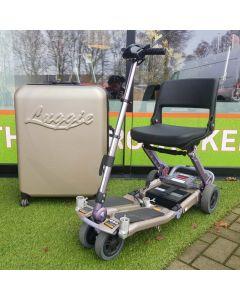 Tweedehands scootmobiel - Freerider Luggie inclusief koffer voor vervoer