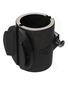 Stokhouder schroefclip 22 mm
