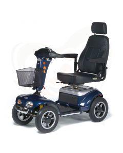 Scootmobiel Vermeiren Jupiter 4 fast 4-wiel blauwe uitvoering