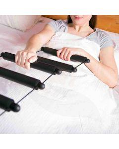Premium soft-grip bedtouwladder