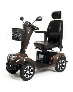 Scootmobiel Vermeiren Carpo 4 Limited Edition bruin