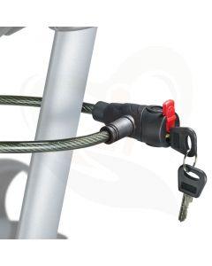 anti-diefstal slot voor topro rollators