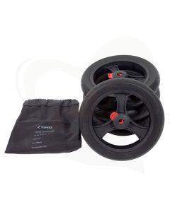 soft wielen set van 4 voor topro troja rollators
