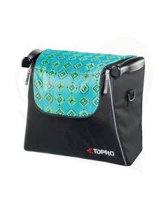 Design boodschappentas Turquoise Troja Classic en Troja 2G rollators