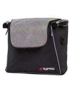 Design boodschappentas Luxury Grey Troja Classic en Troja 2G rollators