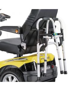 Universele rollatorhouder scootmobiel - montage aan armlegger - inclusief adapter