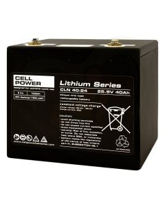 Cellpower lithium series CLN 40-24 NMH accu voorzijde 1