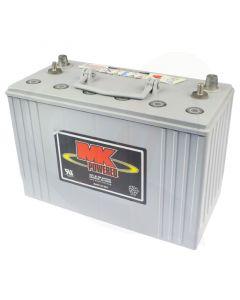Scootmobiel accu MK GEL 12V-97,6Ah E31-SLDG-ST voorzijde