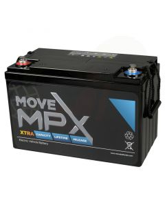 Accu Move MPX 110-12 AGM 12V-130Ah voorzijde