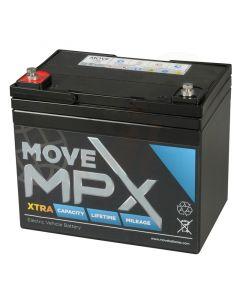 Accu Move MPX 34-12 AGM 12V-36Ah voorzijde