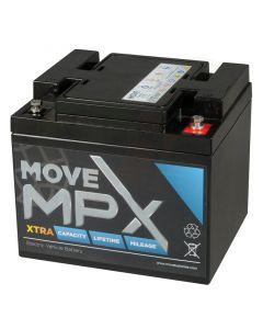 Accu Move MPX 50-12 AGM 12V-55Ah voorzijde