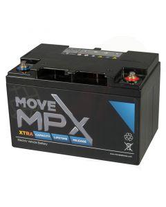 Accu Move MPX 70-12 AGM 12V-79Ah voorzijde