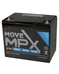 Accu Move MPX 85-12 AGM 12V-105Ah voorzijde