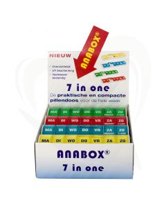 Anabox weekbox 12 stuks