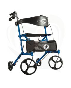 Rollator Hugo Sidekick blauw