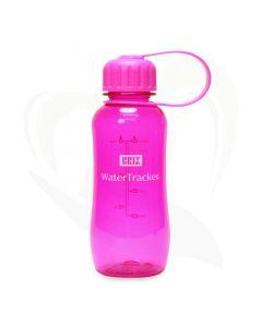 drinkfles watertracker roze 300 ml