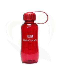 drinkfles watertracker rood 300 ml