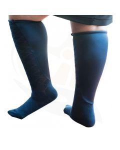 sokken xpandasox ruitpatroon blauw