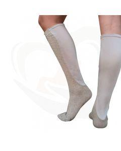 sokken xpandasox kabelpatroon crème