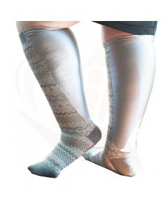 sokken xpandasox fairisle grijs