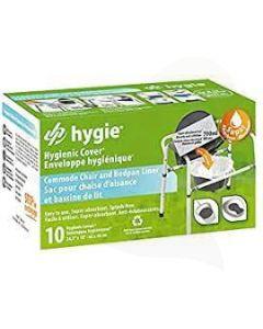 Hygie bedpan- en toiletemmer zakken