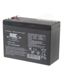 Scootmobiel accu MK AGM 12V-10Ah