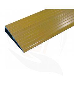 Drempelhulp voor binnen hout-look 96x14 cm