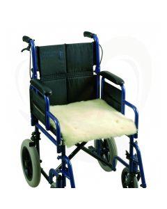 rolstoel zittingbeschermer schapenvacht