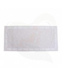 badmat anti slip wit 43x90 cm