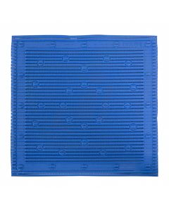 badmat anti slip blauw