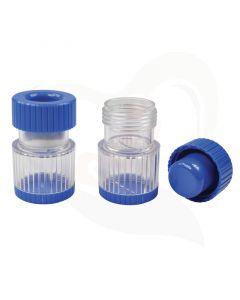 Pillenvergruizer met opbergvak