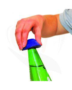Flesopener anti-slip blauw