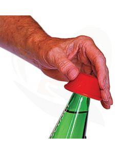 Flesopener anti-slip rood