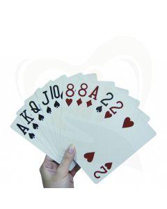 kaartenhouder extra groot