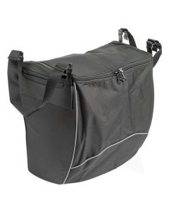 Afsluitbare tas met rits voor Mobilex rollators