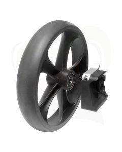 Sleepremmen voor Mobilex rollators wiel en rem los