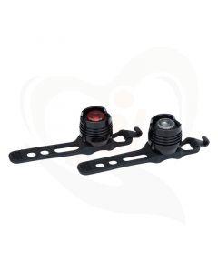 LED lamp voor o.a. rollators en scootmobielen rood en wit licht leverbaar