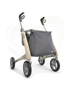 Rollator Acre Carbon Ultralight - medium - beige