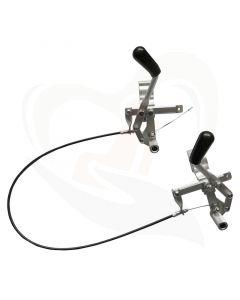 Eenhandig remsysteem voor Drive rolstoel Litec en Ecotec