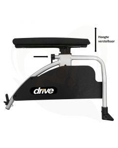 Armleggers in hoogte verstelbaar voor rolstoel Drive Litec en Ecotec