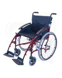 Rolstoel Drive D-lite grote wielen - Compact en lichtgewicht voorzijde