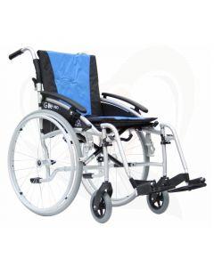 "Lichtgewicht opvouwbare rolstoel Excel G-Lite Pro 24"""