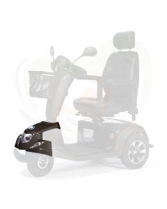 Scootmobiel Vermeiren Carpo 3-wiel voorkap bruin compleet - inclusief koplamp en knipperlichten