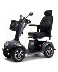 Scootmobiel Vermeiren Carpo 4D 4-wiel grijs - voorzijde