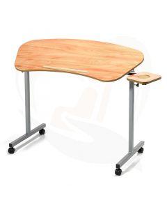 Stoelleestafel voor sta-op stoel - voorzijde