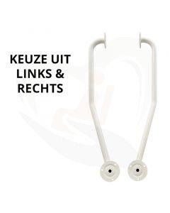 Trapbeugel Links & Rechts - Gedraaide wandbeugel