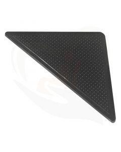 Met deze rubberen tapijt hoekjes voorkomt u dat tapijtkoeken omhoog komen als u erover heen gaat met bijvoorbeeld rollator, rolstoel of scootmobiel.